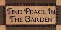 Peace In The Garden Fine-Art Print