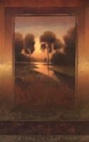 Golden Horizon I Fine-Art Print