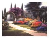 Garden Arbor Fine-Art Print