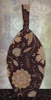 Paisley Vase II Fine-Art Print