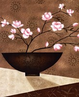 Cherry Blossom in Bowl Fine-Art Print