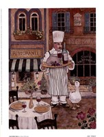 Chef With Wine Fine-Art Print