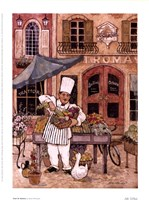 Chef At Market Fine-Art Print