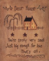 Dear House Fine-Art Print