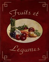 Fruits Et Legumes Fine-Art Print