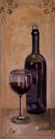 Red Wine With Glass Fine-Art Print