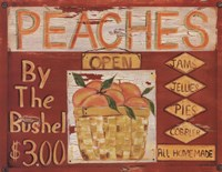 Fruit Stand II Framed Print