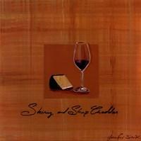 Wine Cheese III Fine-Art Print
