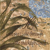 Hope Can See Light Fine-Art Print