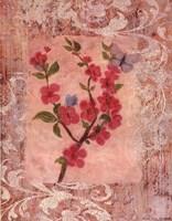 Butterflies And Blossoms IV Fine-Art Print