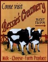 Bessie's Creamery Fine-Art Print