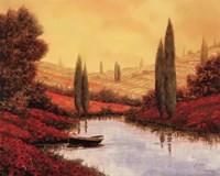 Silenzio Tra I Cipressi Fine-Art Print