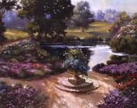 Garden Centerpiece Fine-Art Print