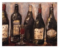 Wine Bar With French Glass Fine-Art Print
