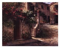 Magliano Courtyard Fine-Art Print