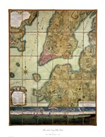 Plan Of The City Of New York Fine-Art Print