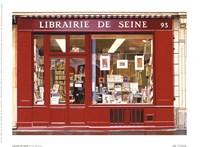 Librairie De Seine Fine-Art Print