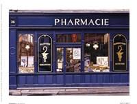 Pharmacie Fine-Art Print