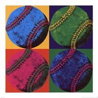 Ball Four - Baseball Framed Print