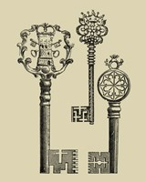 Antique Keys I Fine-Art Print