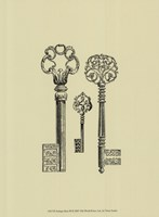 Antique Keys III Fine-Art Print