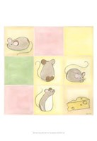 Tic-Tac Mice In Pink Fine-Art Print