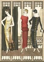 Art Deco Elegance I Fine-Art Print