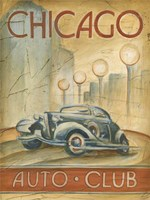 Chicago Auto Club Fine-Art Print