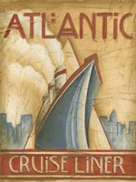 Atlantic Cruise Liner Fine-Art Print