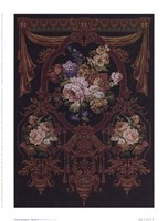 Floral Bouquet Tapestry Fine-Art Print