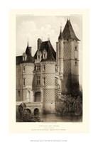 Small Sepia Chateaux VII Fine-Art Print