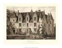 Petite Sepia Chateaux III Giclee