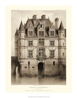 Petite Sepia Chateaux V Giclee