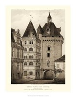 Petite Sepia Chateaux VI Giclee