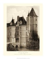 Petite Sepia Chateaux VII Giclee
