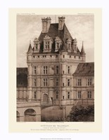 Petite Sepia Chateaux VIII Giclee