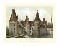 Petite French Chateaux IV Giclee