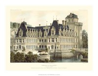 Petite French Chateaux V Giclee
