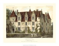 Petite French Chateaux VI Giclee