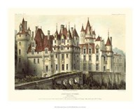 Petite French Chateaux VII Giclee