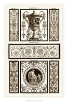 Sepia Pergolesi Panel II Giclee