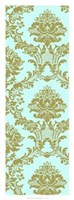 Vivid Damask In Gold II Giclee