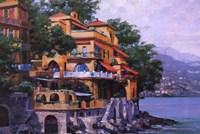 Portofino Villa Fine-Art Print