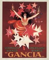 Gancia Wall Poster