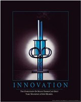 Innovation - Man's Tools Wall Poster