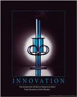 Innovation - Man's Tools Wall Poster
