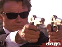 Reservoir Dogs - Mr White Guns Wall Poster