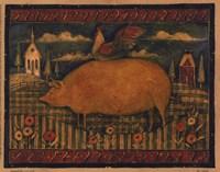 Farmhouse Pig Fine-Art Print