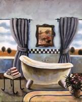 Vintage Bath II Fine-Art Print