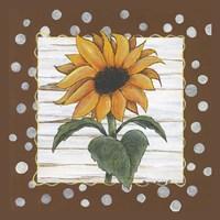 Polka Dot Sunflower Fine-Art Print
